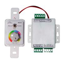 Controle Manual para Sistema RGB 6A Embutir  - 90001 - Iluctron