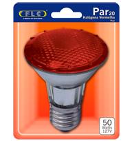 Lâmpada Par 20 50W X 127V Vermelha E27 - 02030110 - FLC
