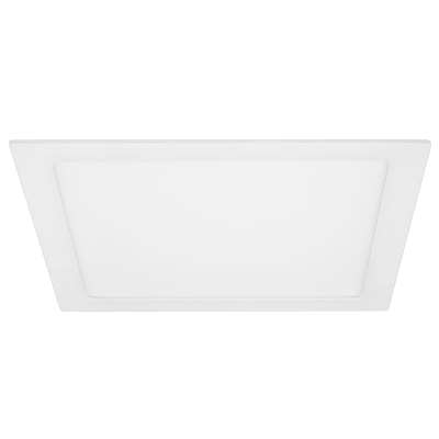 Luminária Painel Led Quadrado de Embutir 24W 29,5X29,5CM Bivolt 4000K Luz Branca Neutra 1580 Lúmens 433003 Brilia