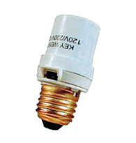 Soquete Fotoelétrico para Lâmpada Incandescente até 150Watts Bivolt - DNI
