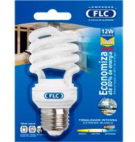 Lâmpada Eletrônica Espiral 12w X 220v Branca Fria (luz Branca) E27 01072056 Flc