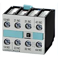 Bloco Contato Auxiliar 3rh19 211ha22 2na 2nf - 3rh19 211ha22 - Siemens