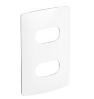 Placas 4x2 Para 2 Postos Separados Seda Sal - 663220 - Pial Legrand Nereya