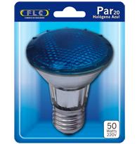 Lâmpada Par 20 50W X 220V Azul E27 - 02030152 - FLC