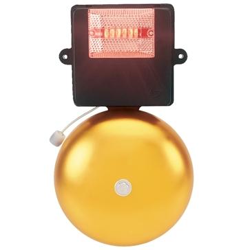Campainha de Potencia p/ Telefone Linha Direta ou Ramal Pabx com Leds  127VCA- CF10. 1 - Danval