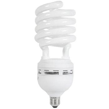 Lâmpada Eletrônica Espiral 105w X 220v Branca Fria (luz Branca) E40 Alto Fator - 01040383 - Flc