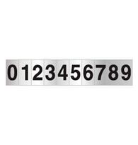 Placa de Numerais de 0 a 9 5x25cm - C05072 - Indika