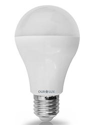 Super Led S60 6W Bivolt Branca Morna (Luz Amarela ) E27 - 03130 - Ourolux