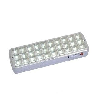 Luminaria de Emergencia 30 leds 2W Bivolt SE-5116L Luz Sollar
