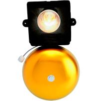 Campainha de Potência p/ Telefone Linha Direta ou Ramal Pabx com Luz  6 220VCA - CF02.2 - Danval