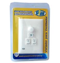Controle Para Ventilador Rotativo 127v Com Pl Para 2 Lâmpadas - 903 - Pw Eletrônica
