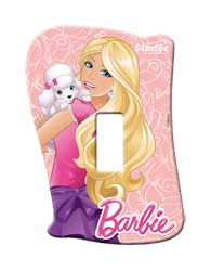 Placa Sem Interruptor Barbie - 120900045 - Startec