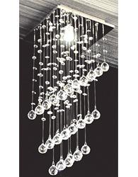 Pendente Cristal Valencia para 1 L�mpada Soquete GU10 - Valencia - PD87091 - Kin Light