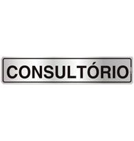 Placa de Aviso Consultório 5x25CM - C05004 - Indika