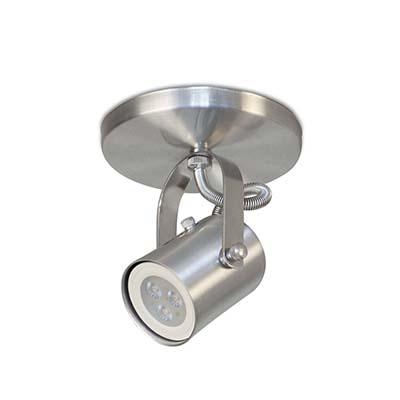 Spot de Embutir Altena Em Alumínio Lixado Para 1 Lâmpada Gu10, Sport Line