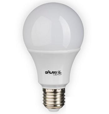Lâmpada Led Bulbo 10W 3000K Luz Branca Quente Luz Amarelada Bivolt 810 Lumens E27 1007Z Galaxy