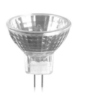 Lâmpada Mini Dicroica Halógena  MR11 35W 12V Luz Branca Quente (Amarela) GU4 - 01393 - Ourolux