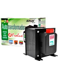 Auto Transformador 1010VA 2P 10A NBR Biv - OAL1010 - FIOLUX