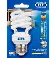 Lâmpada Eletrônica Espiral 14w X 220v Branca Fria (luz Branca) E27 01072099  Flc