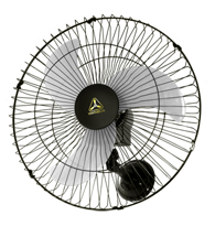 Ventilador Oscilante Parede 60cm Preto Bivolt - 73/6425 - Venti-delta