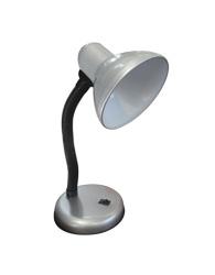 Luminária de Mesa Para 1 Lâmpada E27 - Prata - Basic - LMB203PR - Kin Light
