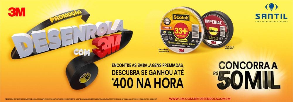 Promocao 3M e Santil