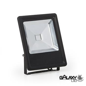 Refletor Led 50W Bivolt 6000K Luz Branca Fria 3500 Lúmens 140130014 Galaxy
