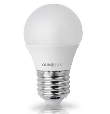 Super Led S30 5W Bivolt Branca Morna (Luz Amarela ) E27 - 03128 - Ourolux