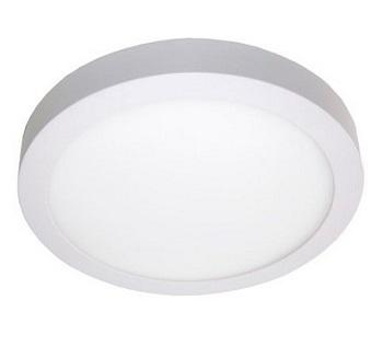 Painel Led de Sobrepor Redondo 6w Bivolt 6000k Luz Branca Fria  420 Lumens 9468 Gaya