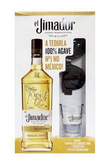 Kit Tequila El Jimador Reposado C/ Shot + �culos