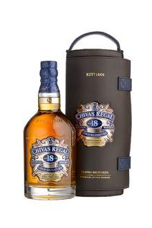 Whisky Chivas 18 Anos Com Canister De Couro