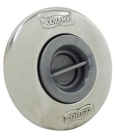 Dispositivo de Aspiração ABS/Inox Pratic 1 1/2´´ para Piscinas de Alvenaria (tubo de 50)