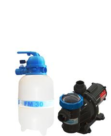Filtro FM-30  e Bomba 1/4cv BM-25 Mono p/ piscinas de até 28 mil litros