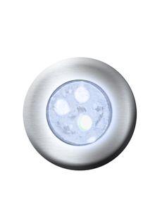 Hiper led 9w latão Monocromático Branco p/ até 18m²