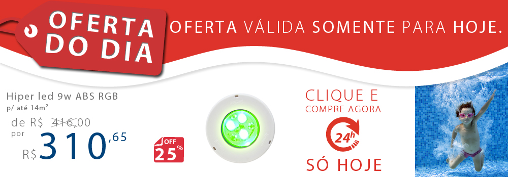 oferta do dia hiper led 9w