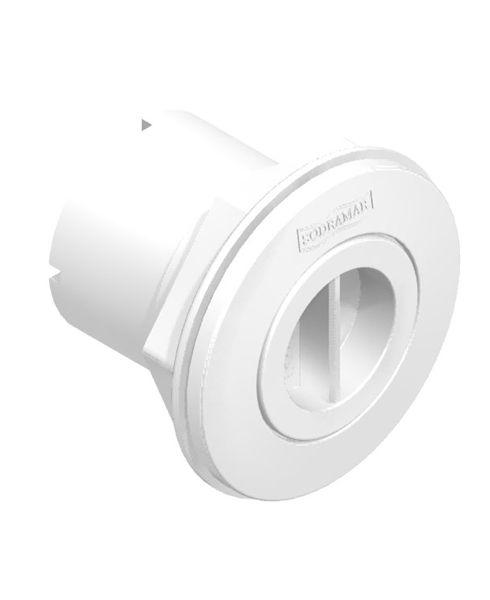 Dispositivo de Aspiração em ABS 1 1/2´´ para Fibra e Alvenaria
