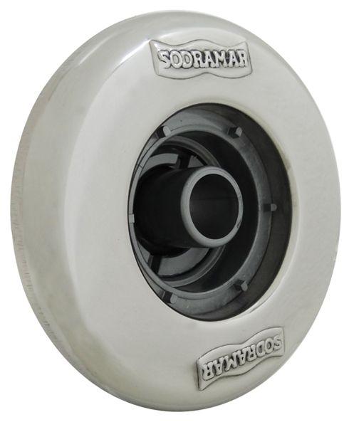 Dispositivo de Retorno ABS/Inox Pratic 1 1/2´´ para Piscinas de Alvenaria (tubo de 50)