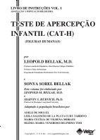 CAT-H - Livro de Instruções (Manual)