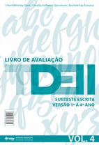 TDE II - Livro de Avaliação Subteste Escrita 1º ao 4º ano