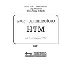 HTM Livro de Exercício