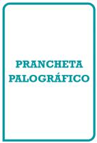 Palográfico Prancheta para Aplicação