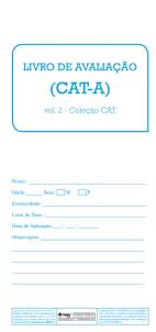 CAT-A Livro de Avaliação