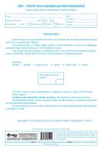 TDP Livro de Aplicação e Avaliação