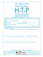 HTP Livro de Avaliação