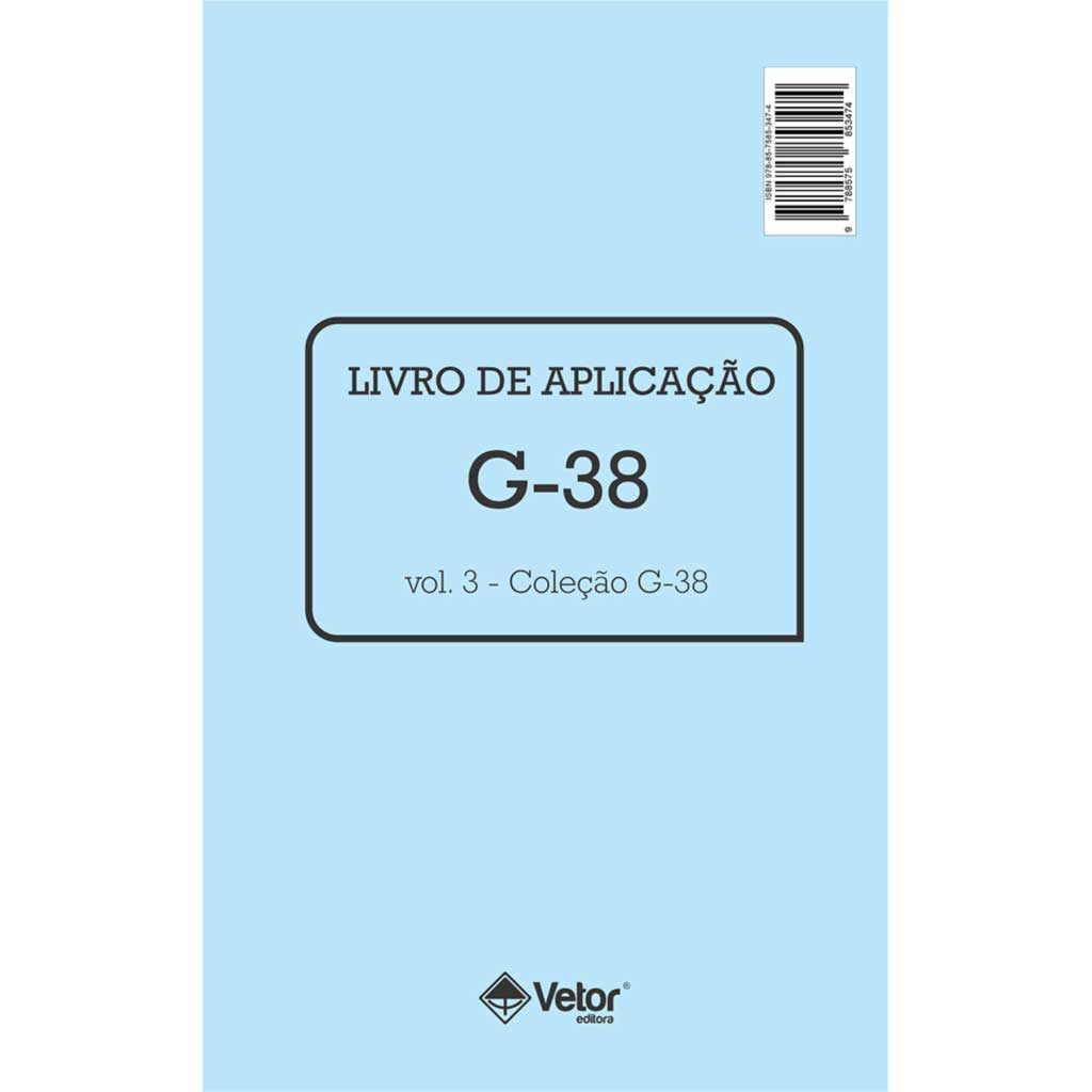 G-38 Livro de Aplicação