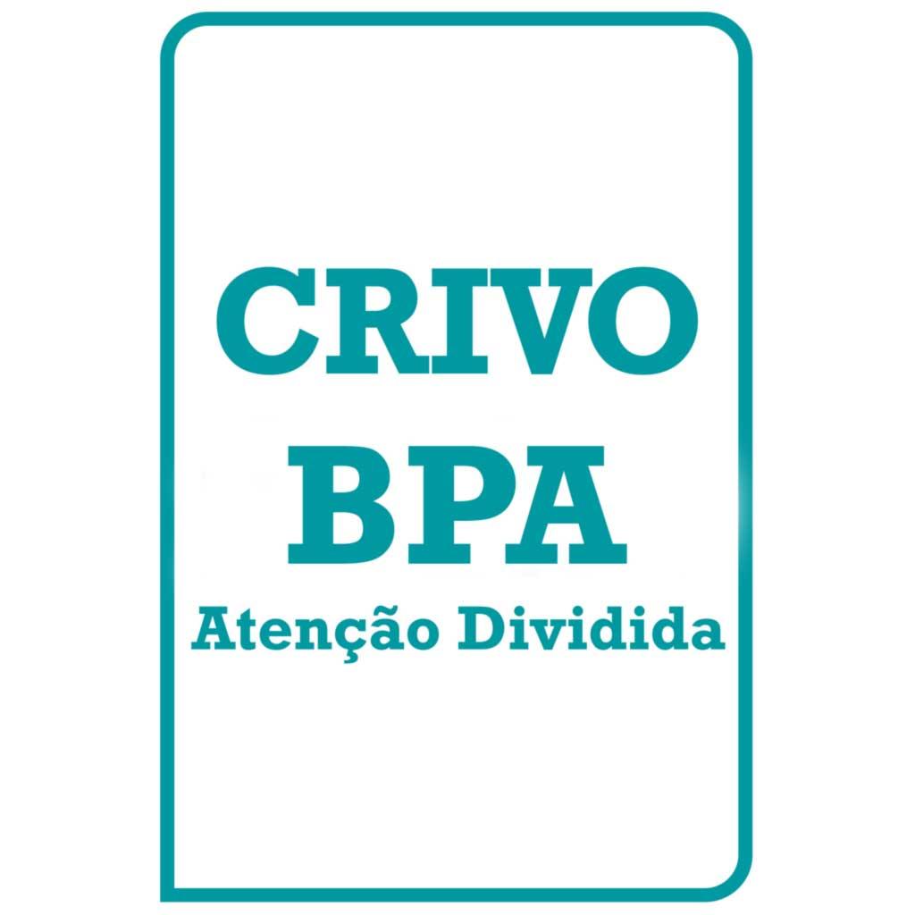 BPA Crivo de Correção - Atenção Dividida
