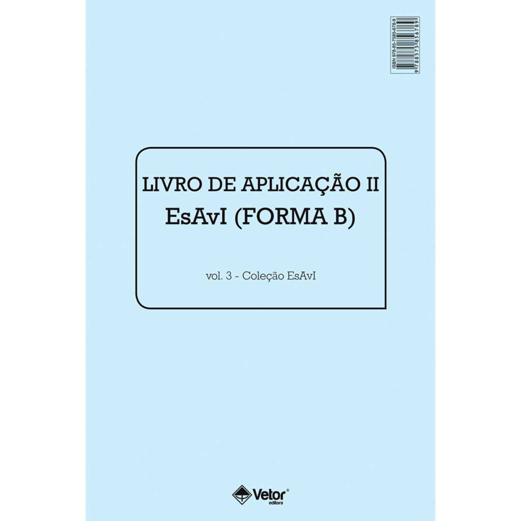 Esavi Livro de Aplicação II - Esavi B