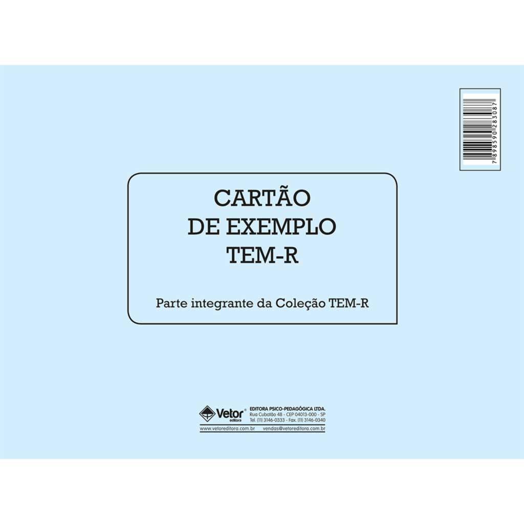 TEM-R - Cartão Exemplo