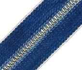 Zíper de metal 04.5 médio niquelado jeans YKK ref. 45 YNR CH CJI12 por metro