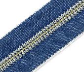 Zíper de metal 05 grosso niquelado jeans YKK ref. 05 RNM CH CJI14 2-WAY por metro
